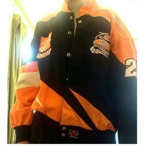 Home depot NASCAR fashion jacket Tony stewa